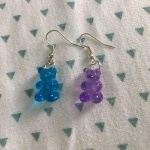Jewelry - gummy bear earrings
